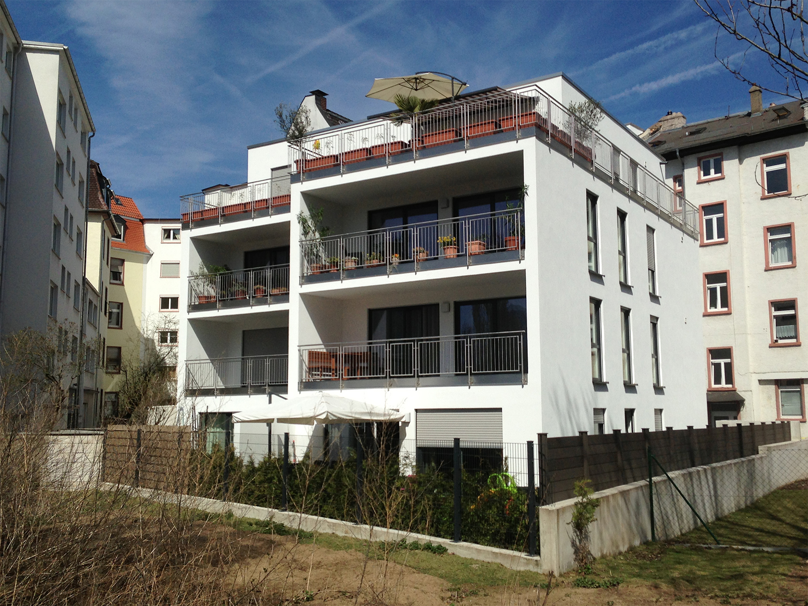 Mehrfamilienhaus Frankfurt-Sachsenhausen