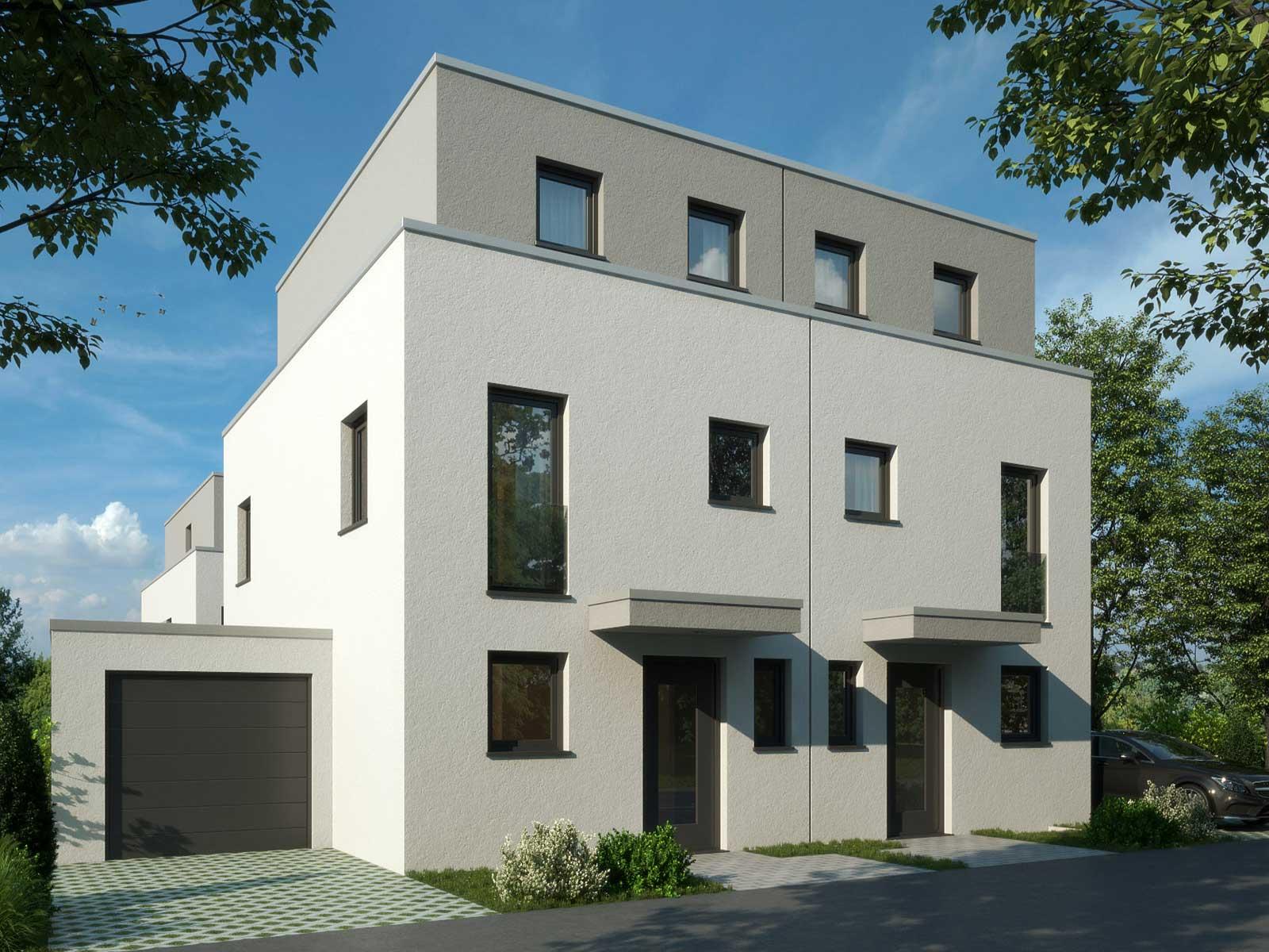 Doppelhäuser in Hattersheim