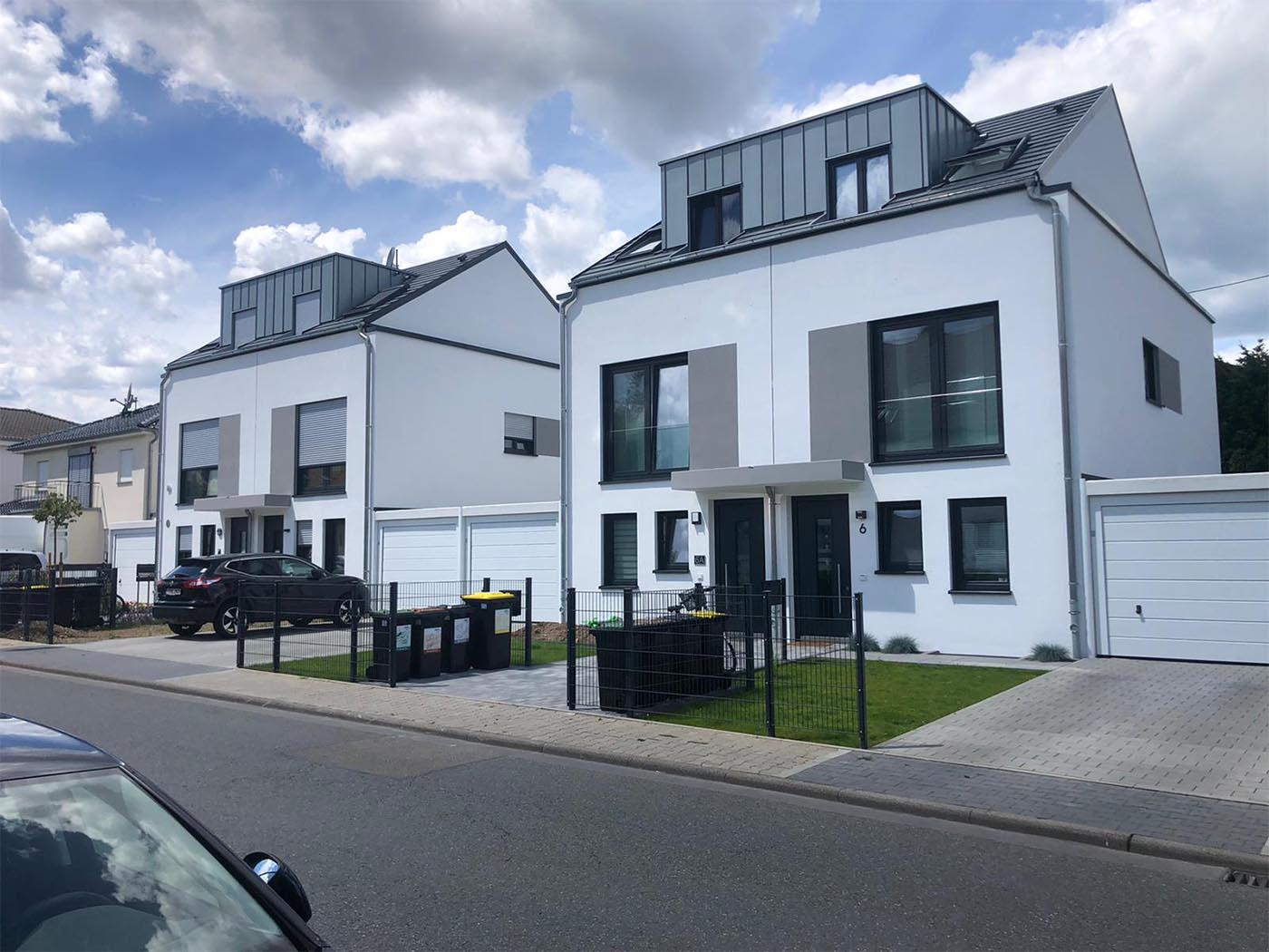Doppelhaushälften in Nieder –Erlenbach